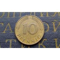 10 пфеннигов 1980 (D) Германия ФРГ #03