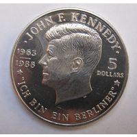 Ниуэ, 5 долларов, 1988