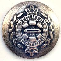 Полковая пуговица Англия Regiment 20 мм