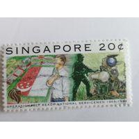 Сингапур 1994. 25 лет боеспособным национальным военнослужащим