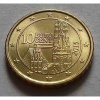 10 евроцентов, Австрия 2015 г., AU