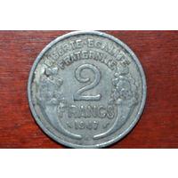 Франция 2 франка 1947