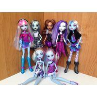 Коллекция кукол монстр хай Monster High Mattel