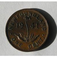 Ньюфаундленд 1 цент 1941 (102)