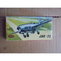 Модель самолета KP Jak-23 1/72