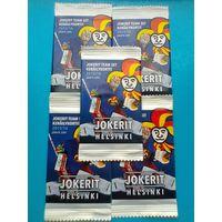 """""""Jokerit Helsinki 2015/16."""" - 13 пакетов карточек в заводской упаковке  одним лотом."""
