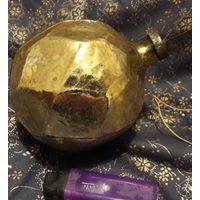 Елочная игрушка из СССР.Толстое стекло