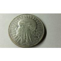 10 злотых 1933 г.