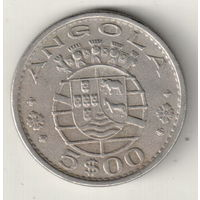 Ангола 5 эскудо 1972
