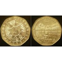 Австрия  5 евро 2006 г Площадь Франца Иосифа