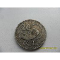 20 центов Фиджи 1981 год, KM# 31, 20 CENTS, из мешка
