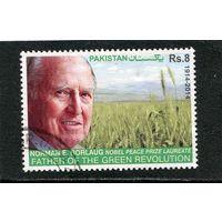 Пакистан. Норман Борлоуг, американский агроном, лауреат Нобелевской премии мира 1970 года