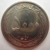 Иран 5000 риалов 2016 г. Мавзолей Имама Резы