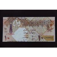 Катар 10 реалов 2008 UNC