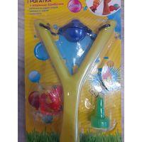 Игрушка Рогатка с водяными бомбочками