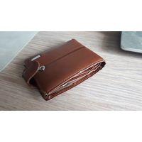 Кошелек, портмоне, бумажник. Коричневый.
