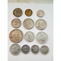 Монеты Кубы разных лет одним лотом