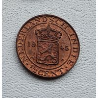 Голландская Ост-Индия 1/2 цента, 1945 3-15-9