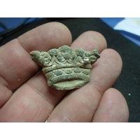 Накладка дворянская корона (тяжелая)