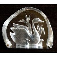 Пресс папье фирмы Magnor,Норвегия, hand made lead crystal 24%