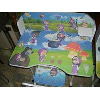 Набор мебели для детской (Маша и медведь). Новый