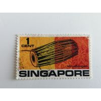 Сингапур 1969. Музыкальные инструменты