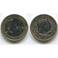 Латвия. 1 евро (2014)