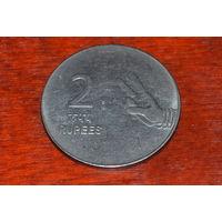 Индия 2 рупии 2009