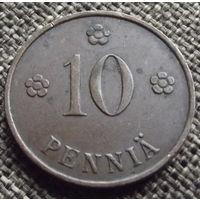 Финляндия. 10 пенни 1937