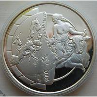 30. Бельгия 10 евро 2004 год, серебро*