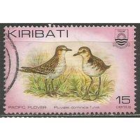 Кирибати. Бурокрылая ржанка. 1982г. Mi#389.