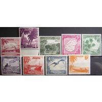 Британские колонии. НАУРУ, полная серия 1954. Лот 4