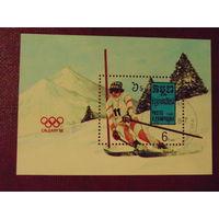 Кампучия 1987г. спорт Блок