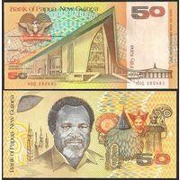 Папуа Новая Гвинея 50 кина образца 1989 года UNC p11