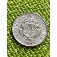 Коста Рика 5 сентимо 1967 г