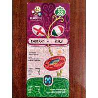 Англия-Италия 24.06.2012 Евро-2012
