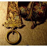 Настенный шнур к колокольчику  для вызова прислуги
