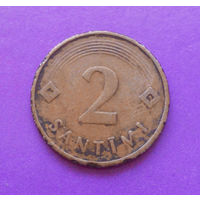 2 сантима 1992 Латвия #02