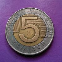5 злотых 1994 Польша #08
