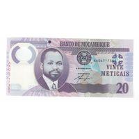 20 метикас 2011 года Мозамбика. UNC!-ПРЕСС!