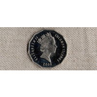 Соломоновы острова 50 центов 2008(Li)