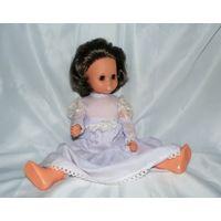 Кукла ГДР немецкая , кареглазка, шелковые ресницы. Родное платье