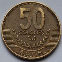 Коста-Рика, 50 колон 1999 г.