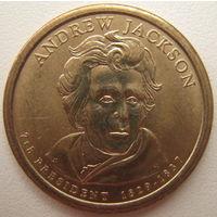 США 1 доллар 2008 г. (P) 7-й Президент США Эндрю Джексон