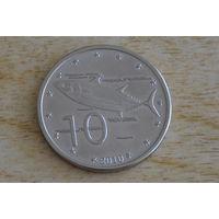 Острова Кука 10 центов 2010