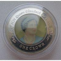 Распродажа! Остров Найтингейл (Тристан-да-Кунья) 1 крона 2005 (3) Все монеты с 1 рубля!!