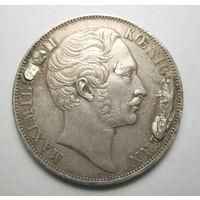 2 гульдена 1855 Бавария Patrona Bavaiae
