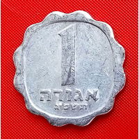 34-12 Израиль, 1 агора 1963 г. Единственное предложение монеты данного года на АУ