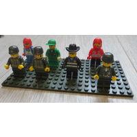 Лего. Brick и др...человечки...