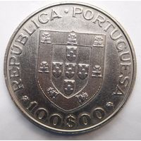 Португалия 100 эскудо 1982 г. Международный год инвалидов .